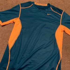 Boys Nike pro combat dry fit shirt